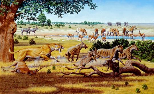 hunting-sabre-toothed-cat-mauricio-anton