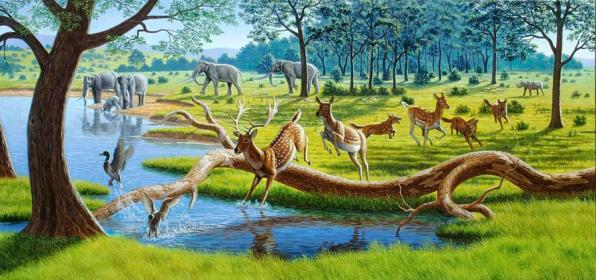 pleistocene-animals-artwork-mauricio-anton
