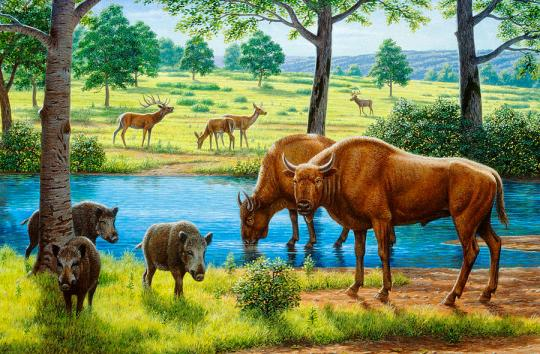 wildlife-of-the-pleistocene-era-mauricio-anton